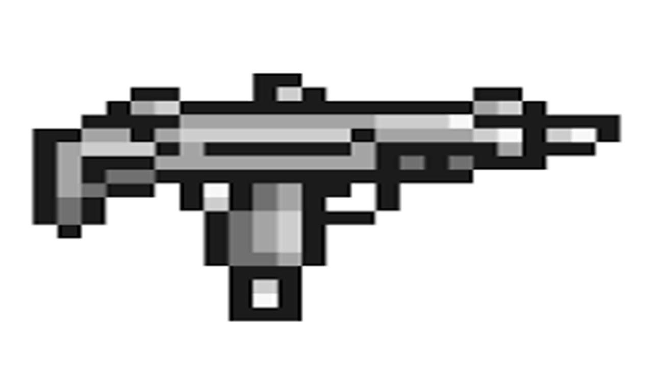 how to make guns on terraria ipad