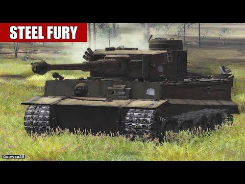 "Steel Fury Kharkov 1942 The N Power Campaign ""Olkhovatka"" Mission 9 Pz.VI Tiger Tank"