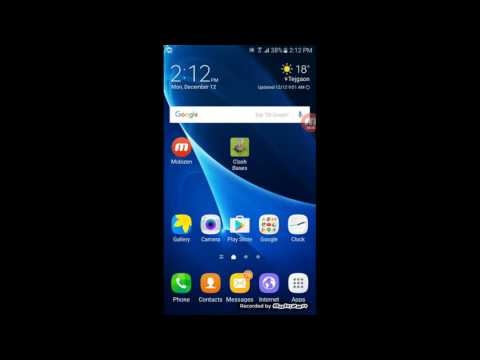Samsung Galaxy J7 Prime Wallpaper And Themes Review Youtube