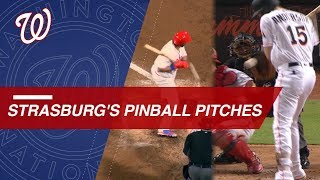 Stephen Strasburg hits the batter, catcher, and umpire again