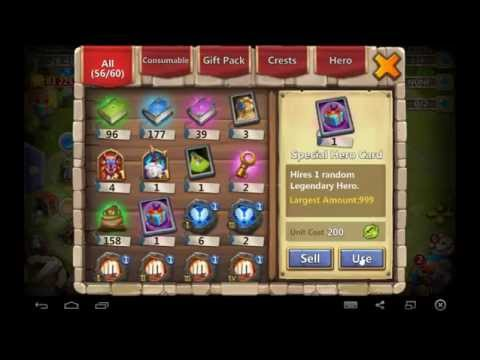 Castle Clash-Rolling SHC And Leveling Druid 6 Of 9