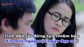 Beat Karaoke - Xin Yêu Tôi Bằng Cả Tình Người   Lê Sang, Nguyễn Huỳnh Công Bằng