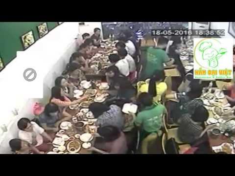 Camera giấu kín- shock-nhà hàng Nấm Đại Việt