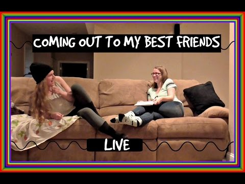 Coming Out As Bi To All My Best Friends (LIVE REACTIONS)