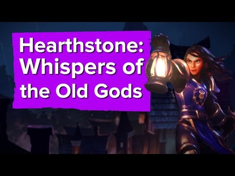 Hearthstone: Whispers of the Old Gods Trailer