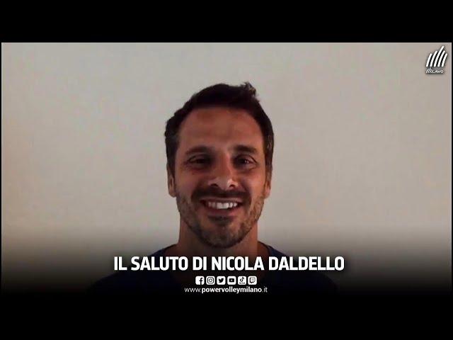 Welcome Daldello, il saluto di Nicola Daldello