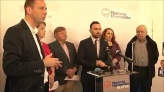 Materiał z TV Słupsk, w sprawie sprzedaży mieszkań komunalnych