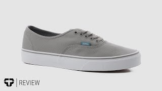 Vans Authentic and Vans Era Skate Shoes review - Tactics.com