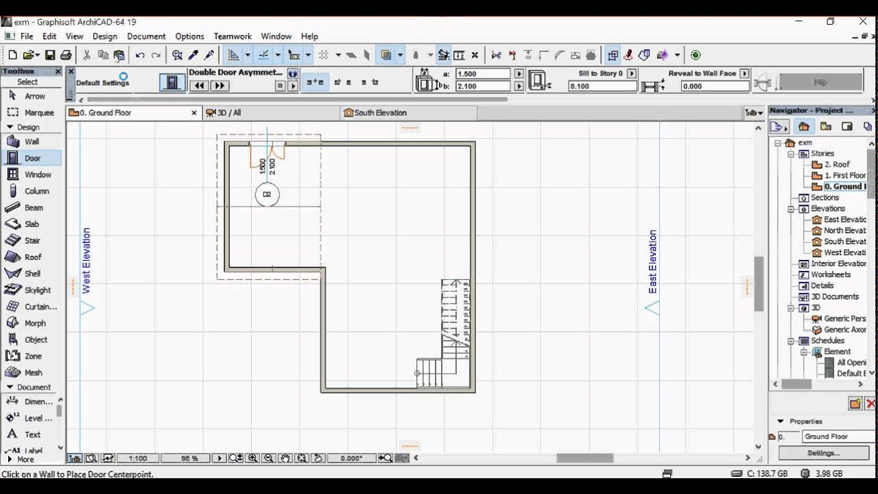 5mins plan using archicad 19 youtube for How do you make a blueprint