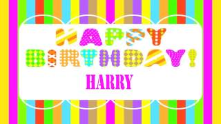 Harry   Wishes & Mensajes - Happy Birthday