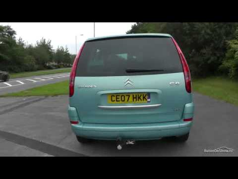 2007 citroen c8 sx hdi 16v youtube. Black Bedroom Furniture Sets. Home Design Ideas