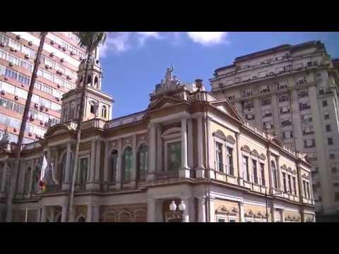 Passeio de Centro histórico de Porto Alegre ポルトアレグレ旧市街バスツアー