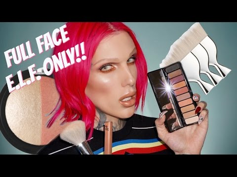 Thumbnail: FULL FACE USING ONLY E.L.F. PRODUCTS!! | Jeffree Star