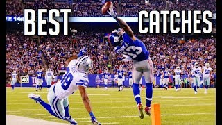 The BEST Catches In Football History || HD