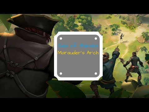 Sea of thieves: Marauder's Arch exploration episode 1 CLOSE BETA