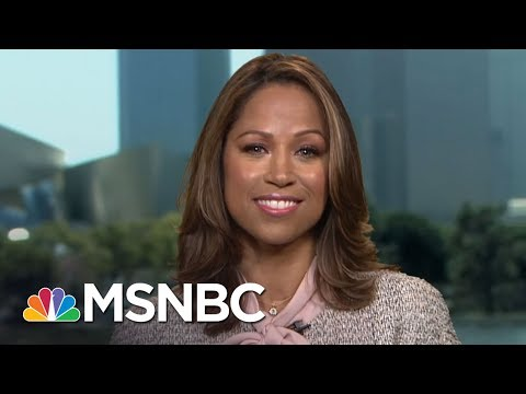 Candidate Stacey Dash: President Trump 'Right' On Charlottesville  The Beat With Ari Melber  MSNBC