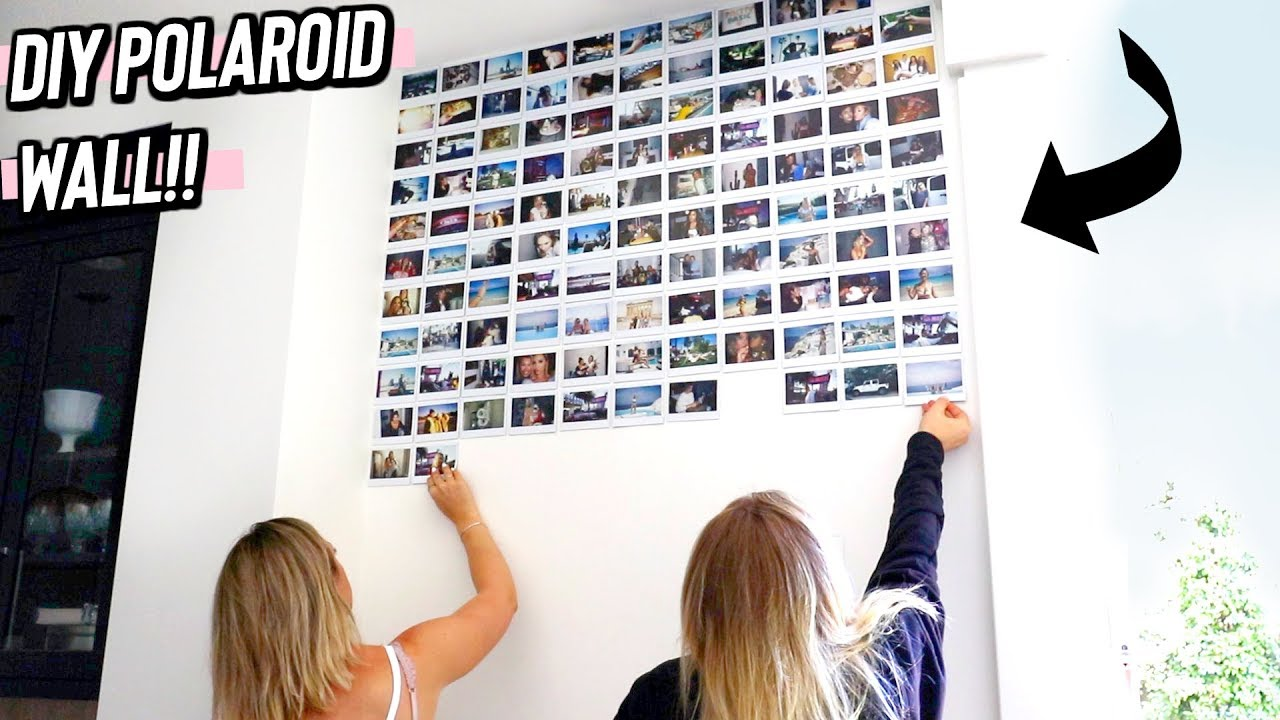 Polaroid Wall Pictures