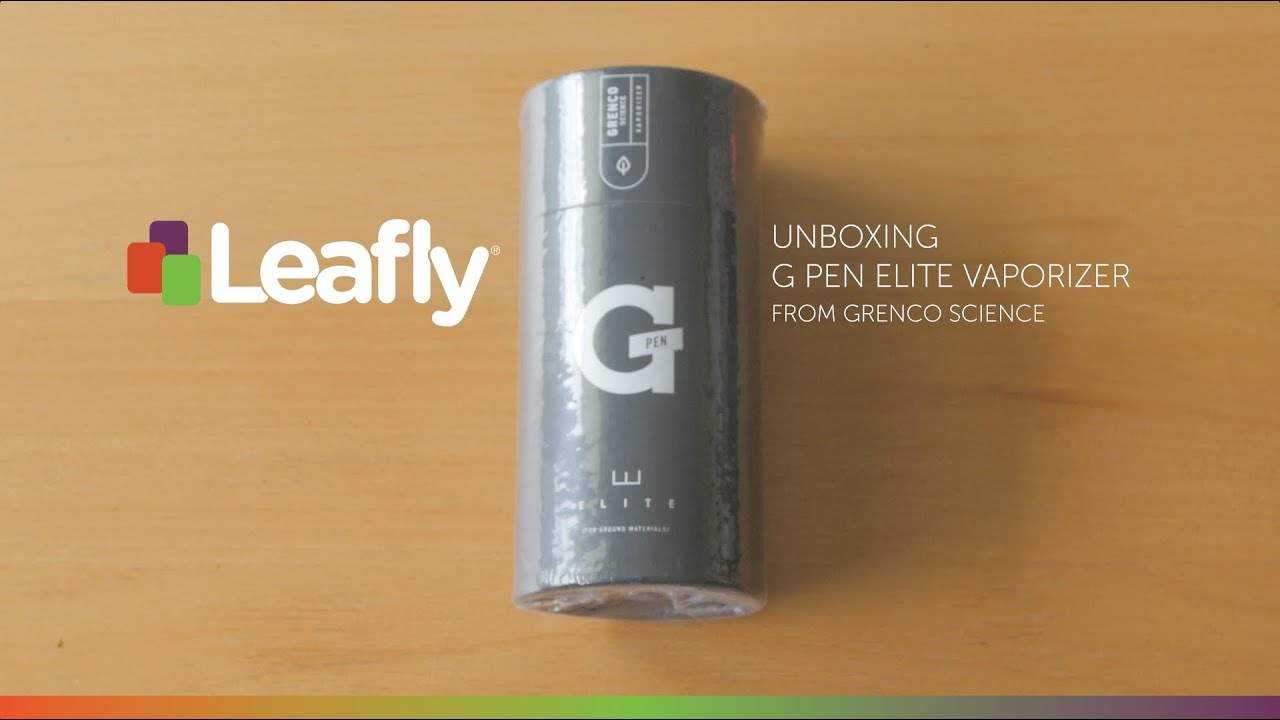Product Review: The G-Pen Elite Vaporizer (Ground Herb) | Leafly