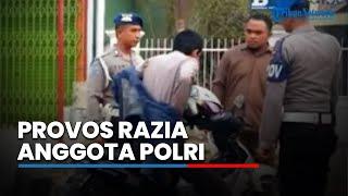 Provos Polisi Razia Pomad Amankan KTA Anggota Polri