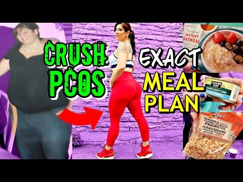 How I Lost 50 Pounds In 3 Months & CRUSHED PCOS (EXACT MEAL PLAN)
