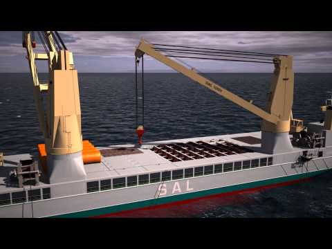 SAL: 3D Simulation Offshore Penetration Anchor