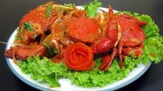 Spicy Crab with Medan Fermented Bean Paste - Resep Kepiting Saus Pedas Tauco Medan