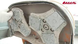 Типовой техпроцесс «Изготовление полированного бетонного пола»: 04. Подготовка поверхности(Рассказывает Андрей Пугачев, начальник отдела развития завода «Дельта», выпускающего сегменты для професс..., 2016-06-06T09:51:53.000Z)