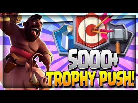 Clash Royale / Hog ladder, 5000+ pokaler!