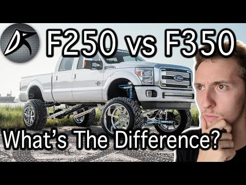 F250 vs F350: What's The Real Difference?