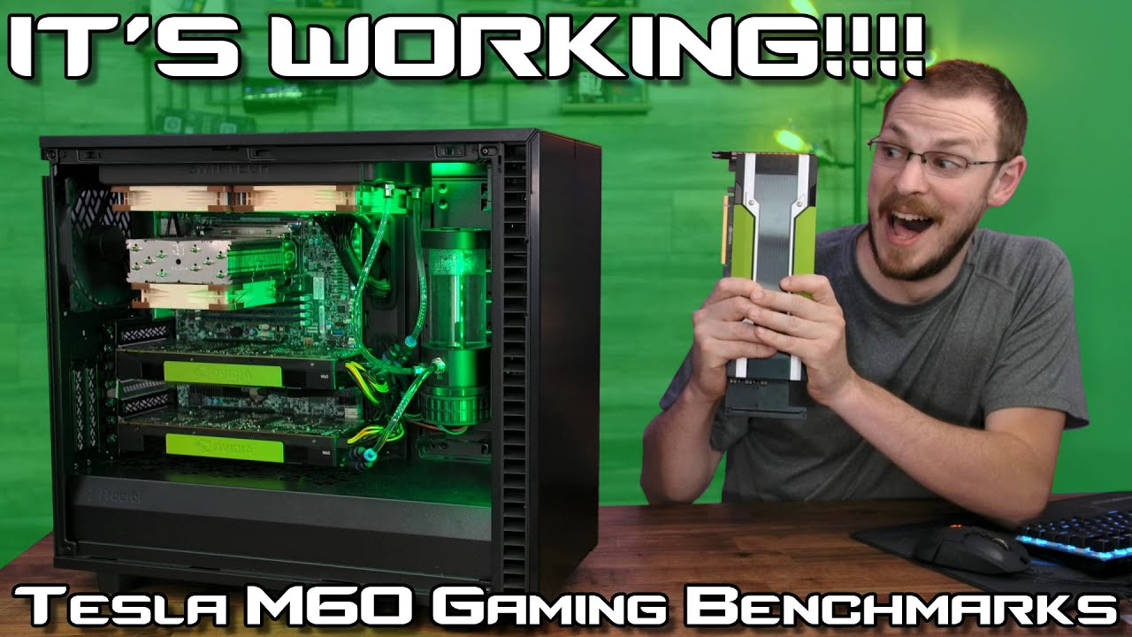 IT'S WORKING! Cloud Gaming Server Benchmarked!