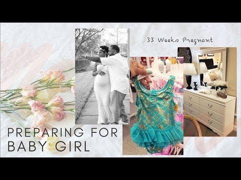 Preparing For Baby's Arrival   33 Weeks Pregnant   First Time Mom Pregnancy Vlog   Leann DuBois