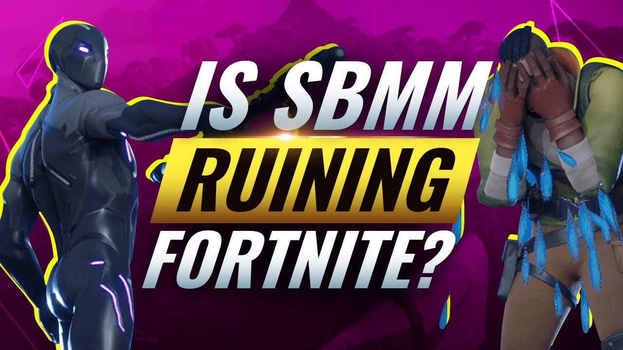 WHY SKILL Based MATCHMAKING Is Hurting The Fortnite ...