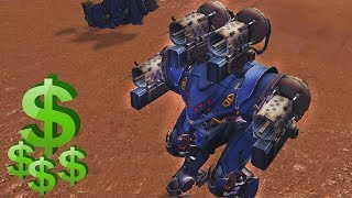 EXORCIST NUEVO ROBOT - TEST SERVER War Robots