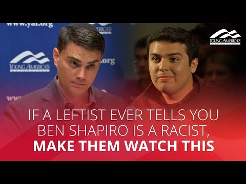 If A Leftist Ever Tells You Ben Shapiro Is A Racist, Make Them Watch THIS