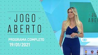 JOGO ABERTO - 19/01/2021 - PROGRAMA COMPLETO
