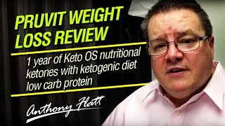 Pruvit Weight Loss Review 1 year of Keto OS - Ketogenic Diet & Ketosis