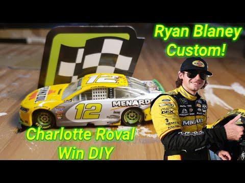 NASCAR Custom Diecast DIY ep.7| Ryan Blaney's 2018 Pennzoil/Menards Charlotte Roval Win 1:64