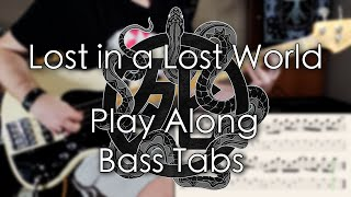 Iron Maiden - Lost in a Lost World // Bass Cover // Play Along Tabs and Notation
