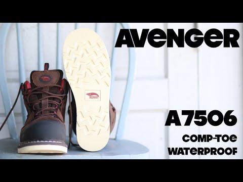 AVENGER A7506 | Waterproof-Nanofiber Toe | The Boot Guy Reviews