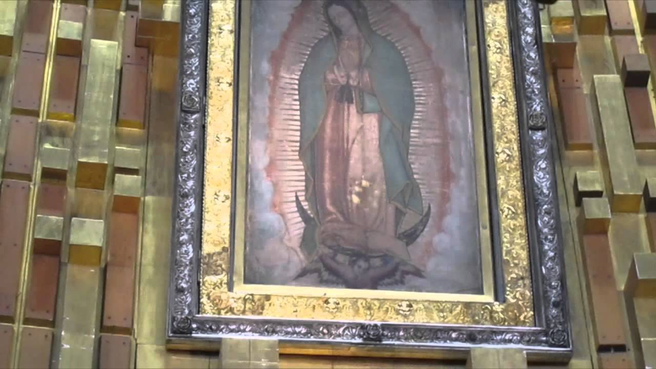 Virgin Of Guadalupe Original Image In Mexico City Imagen Original