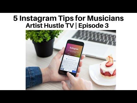 5 Instagram Tips for Musicians | ArtistHustle TV Episode 3