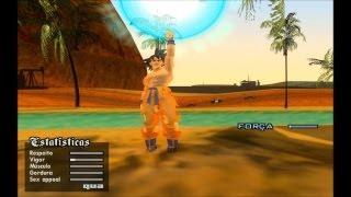 GTA SA EVOLUTION DOWNLOAD SKIN GOKU SSJ1 DA SAGA FREEZA v2 By Diego4Fun FULL HD 1080