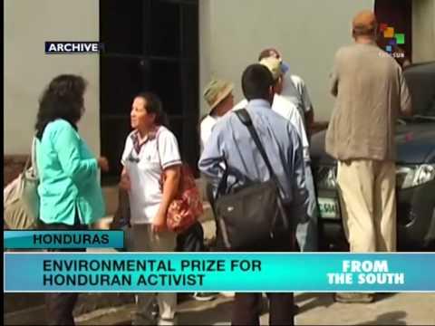 Honduras: Activist Wins Environmental Award