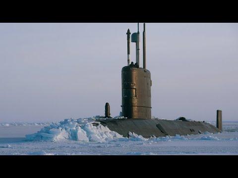 Übung vor Alaska: Britisches U-Boot durchbricht Arktis-Eis