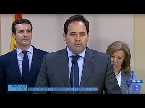 Núñez intenta ganar puntos con Casado manipulando unas declaraciones de Page y en TVE se ríen