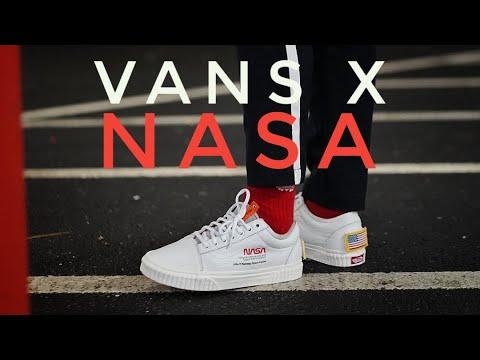 f2d673ec6fb NASA X VANS OLD SKOOL - On Foot   Review - YouTube