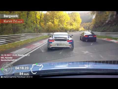 I 30 N vs GT3 Nordschleife DSK