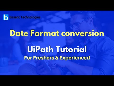Date Format Conversion | RPA | UiPath Tutorial For Beginners