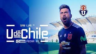 San Luis vs Universidad de Chile - Fecha 28