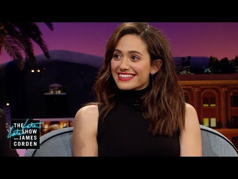 Emmy Rossum's Flower Girls Upstaged Her at Her Wedding